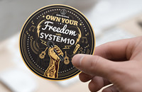 Audio-Technica's System 10 sticker design