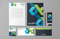 B+D Projects branding design-Thumbnails