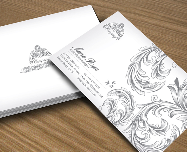 Royal Grande creative business card