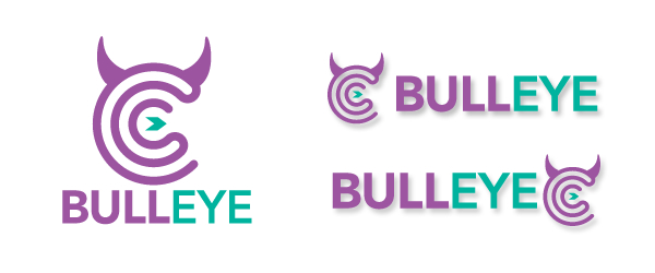 Bull eye logo LO11OG // Logos collection