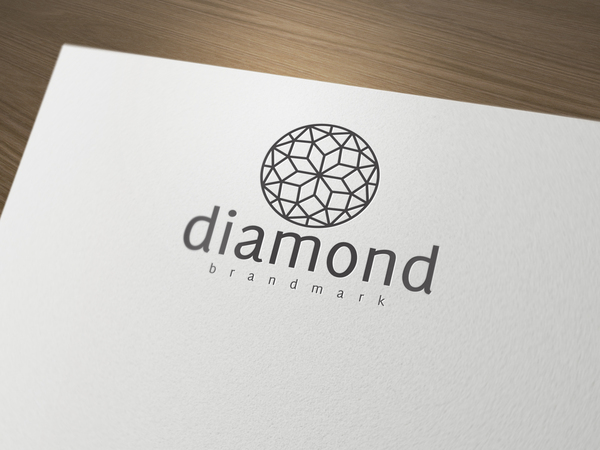 Diamond logo LO11OG // Logos collection