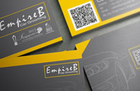 EmpireB car grooming business card