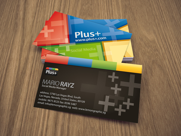 How to design a business card on Photoshop for beginners