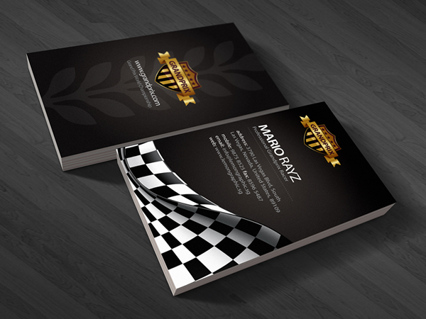 Grandprix Corporate Business Card