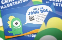 Graphic_monster_Character_design_business_card_design_06