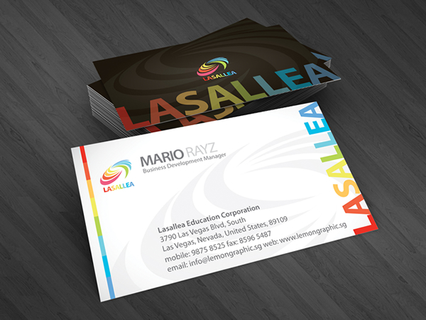 Lasallea Corporate Business Card