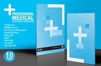 Professional medical brochure design