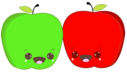 Fruits character design