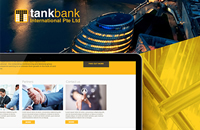 Tankbank international website design