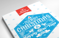 Typography-merry-christmas-card-2013-Thumbnails