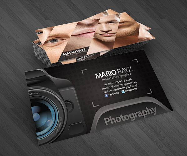 Photographer Corporate Business Card