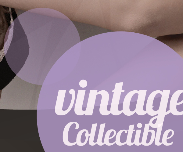 Fashionista Vintage clothing brochure