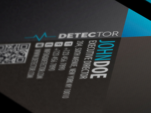 Detector Business Card