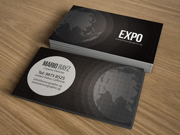 Expo Corporate Business Card