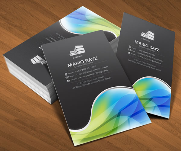 Global Universe Corporate Business Card