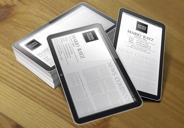 ipad Business card