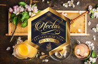Nectar honey packaging branding