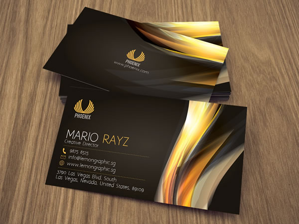 Phoenix Corporate Business Card