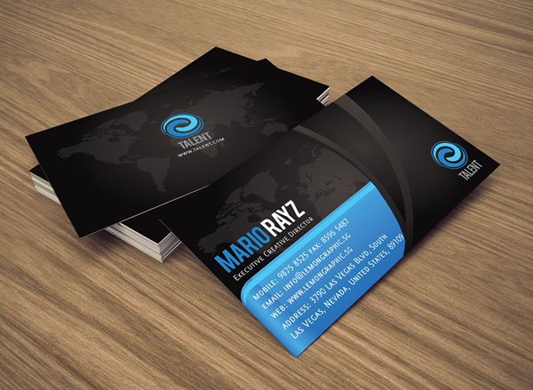 Talent Corporate Business Card