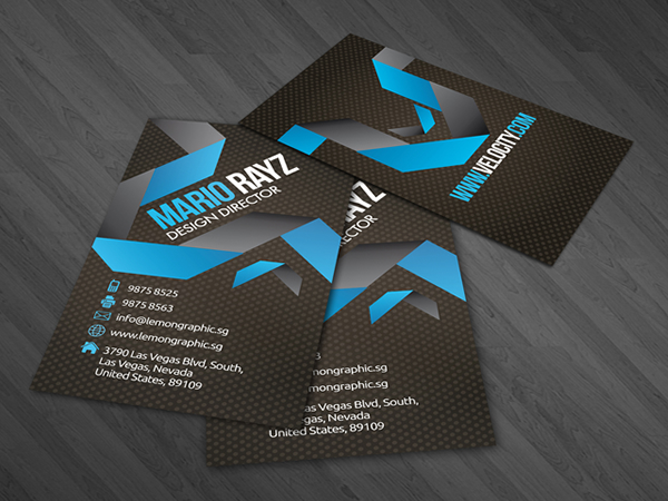 Velocity Corporate Business Card