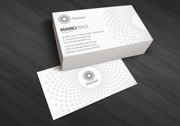 Stardust Corporate Business Card